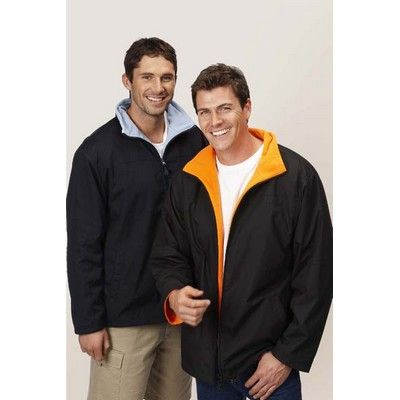 Printed Inner Contrast Jacket Min 25 - 100% Polyester. Water Resistant, Contrast Lining of Polar Fleece, Side Deep Pockets, Full Front Embroidered Zip. http://www.promosxchange.com.au/printed-inner-contrast-jacket/p-11111.html