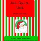 J'ai…, Qui a…? (Noël)  is a game where each student receives a card, listens to clues, and determines when it is his/her turn to play his/her card....