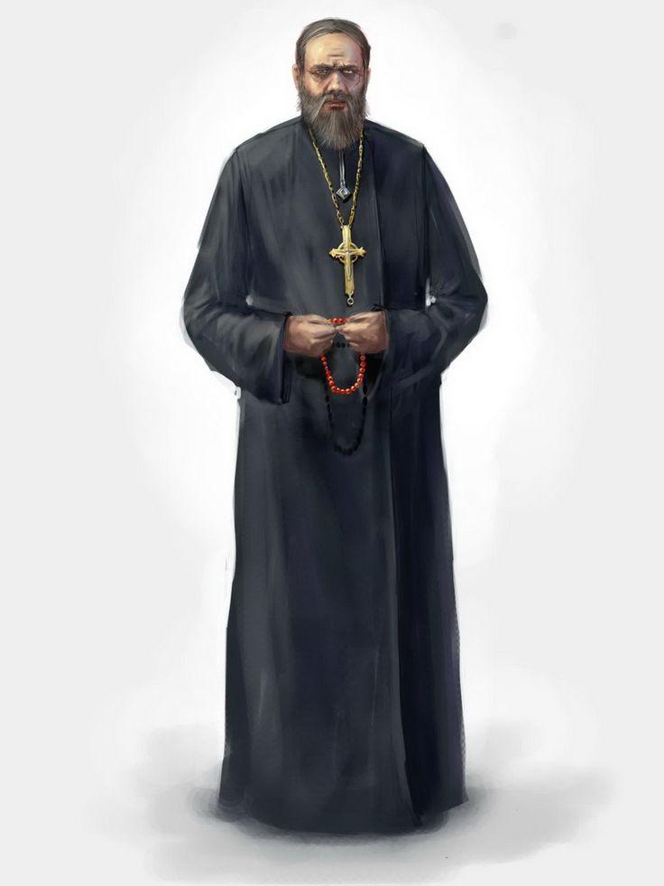 The priest by genek on DeviantArt