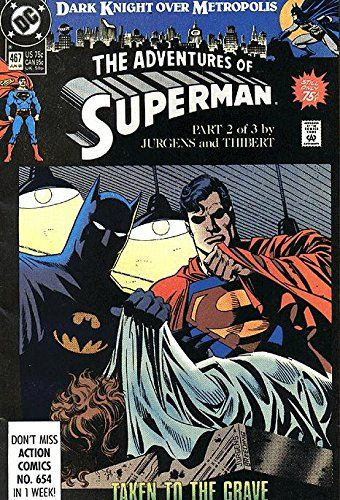 Adventures of Superman (1987 series) #467 @ niftywarehouse.com #NiftyWarehouse #Superman #DC #Comics #ComicBooks