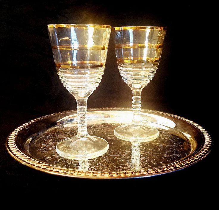 Excited to share the latest addition to my #etsy shop: Vintage Gold Trimmed Wine Glasses, Mid Century Modern Wine Glasses, Ribbed Cocktail Glasses, Gold Striped Wine Glasses, Gift, Set of 2 http://etsy.me/2HaZ3z0
