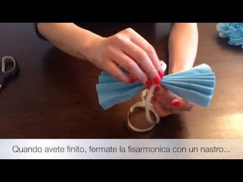 Tutorial fiori carta - YouTube