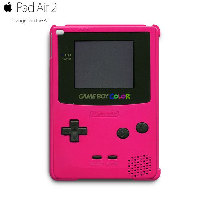 Game Boy Color Pink iPad Air 2 Case Cover Wrap Around