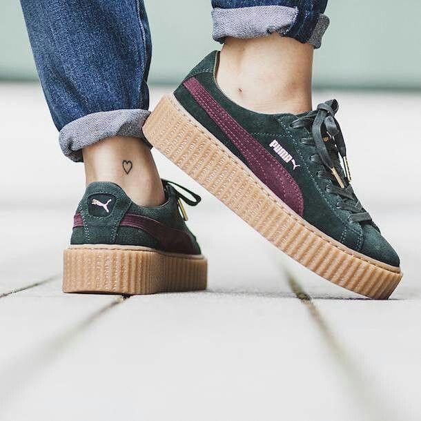 Puma by Rihanna Suede Creeper (via Kicks ) | Adidas
