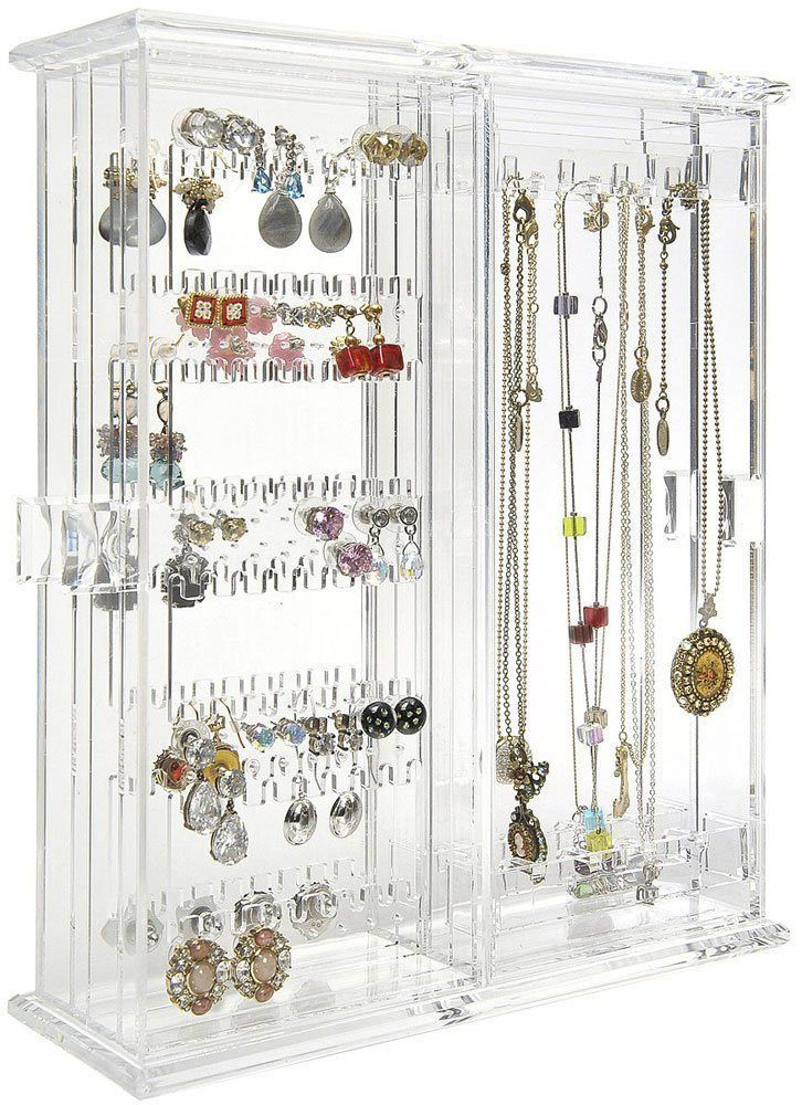 25 Beautiful Acrylic Jewelry Holders Zen Merchandiser Jewellery Storage Fine Jewelry Organizer Jewelry Hanger