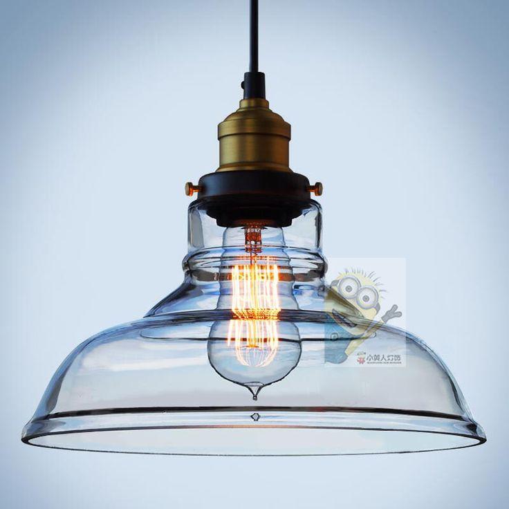Дизайнер лампа RH Лофт Ресторан Бар Тайбэй западном стиле сельской промышленности творческая кристаллическая люстра стеклянная чаша - Taobao