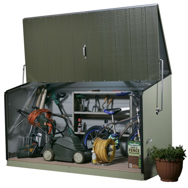 Perfect For Outdoor Storage If You Donu0027t Want A Conventional Garden Shed  #garden