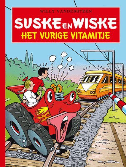 Suske en Wiske - Het vurige Vitamitje luxe - suskeenwiskeshop.com