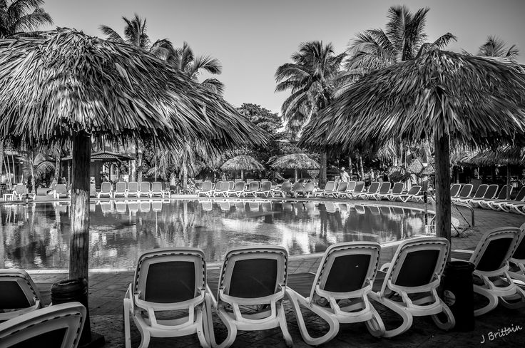 QUIET AT THE POOL BY JACK BRITTAIN