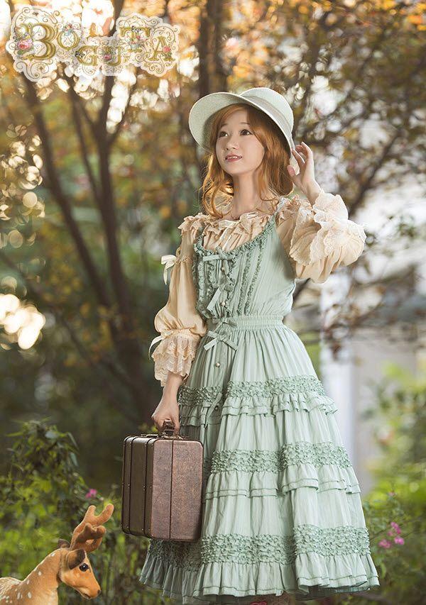 Boguta -Hello! Heidi- Classic Lolita Jumper Dress