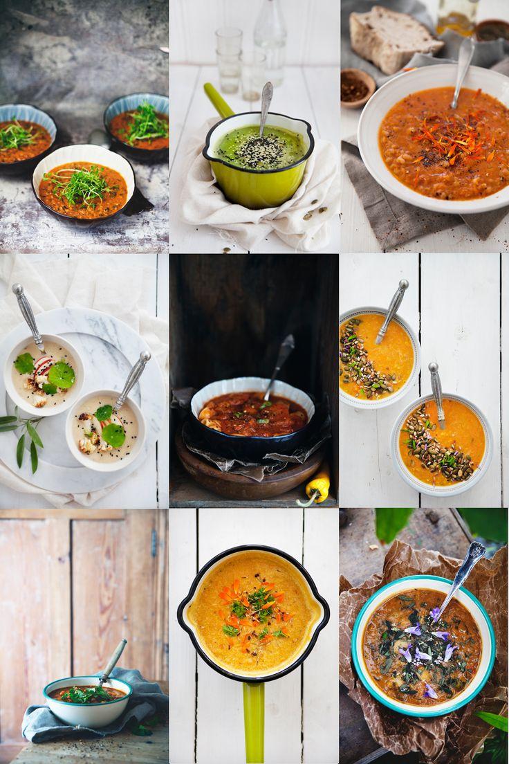 9 veganska soppor | Det gröna skafferiet
