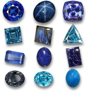 Liste de pierres précieuses variétés par couleurs; Acheter les pierres précieuses en rose et rouge, les pierres précieuses jaune, doré, orange et vert; bleu, violet, noir, blanche et les pierres précieuses multicolores à GemSelect.