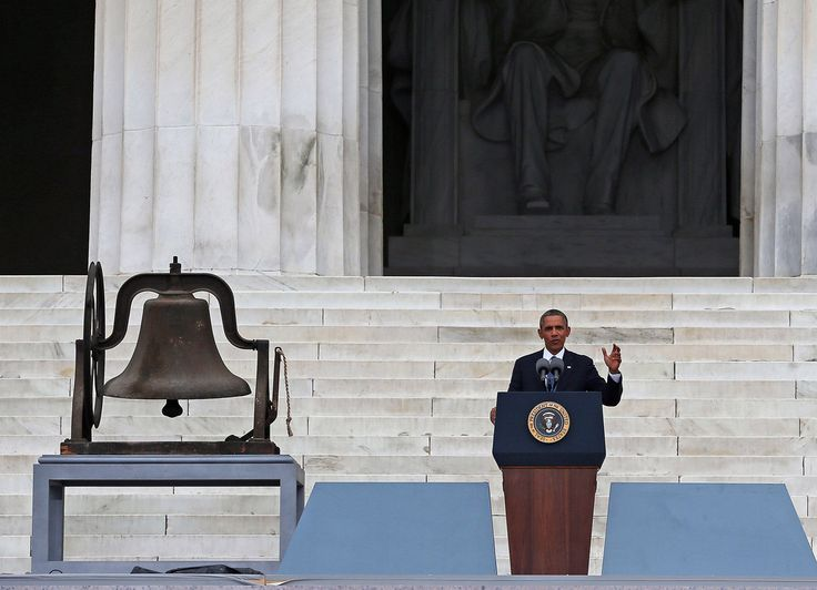 Barack Obama Photos: Washington, DC Marks 50 Years Since MLK's 'Dream' Speach