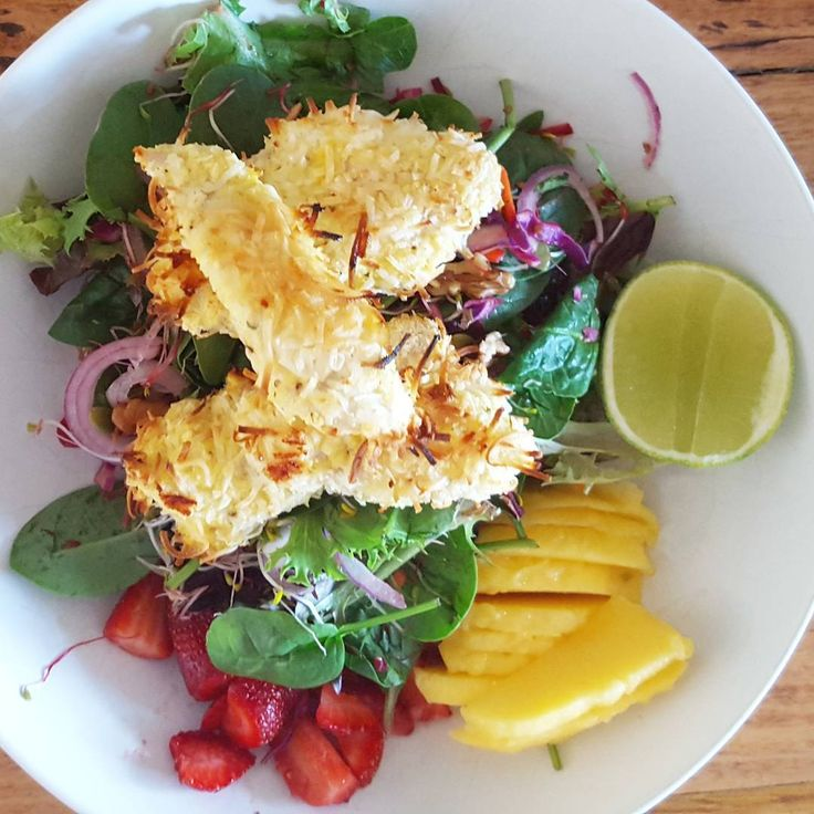 Coconut & Lime Chicken Salad