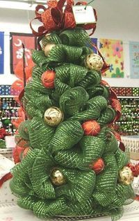 How to Make Tomato Cage Christmas Trees                                                                                                                                                                                 More