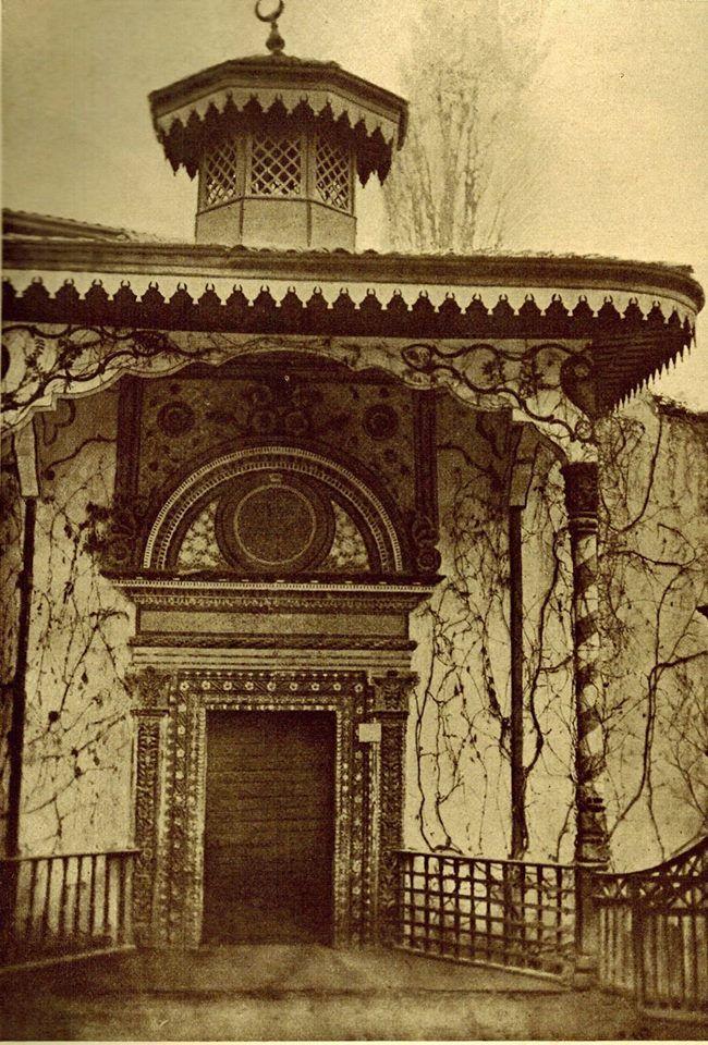 Tatar Crimea. Железные Ворота Дворца 1503
