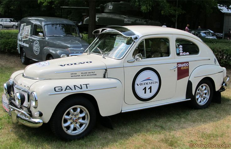 Volvo 544, old school rally car.