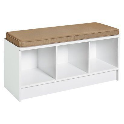 ClosetMaid Cubeicals 3 Cube Storage Bench , this one with dark blue drawers.... http://www.amazon.co.uk/dp/B00BHWTS2Q/ref=cm_sw_r_pi_dp_IR4ksb0KAEBTN