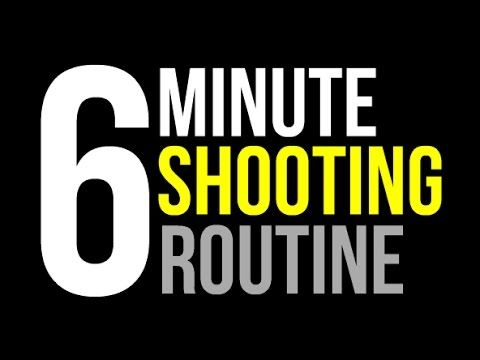 How To: Improve Shooting Form | Daily 6 Minute Form Shooting Routine | Pro Training - YouTube