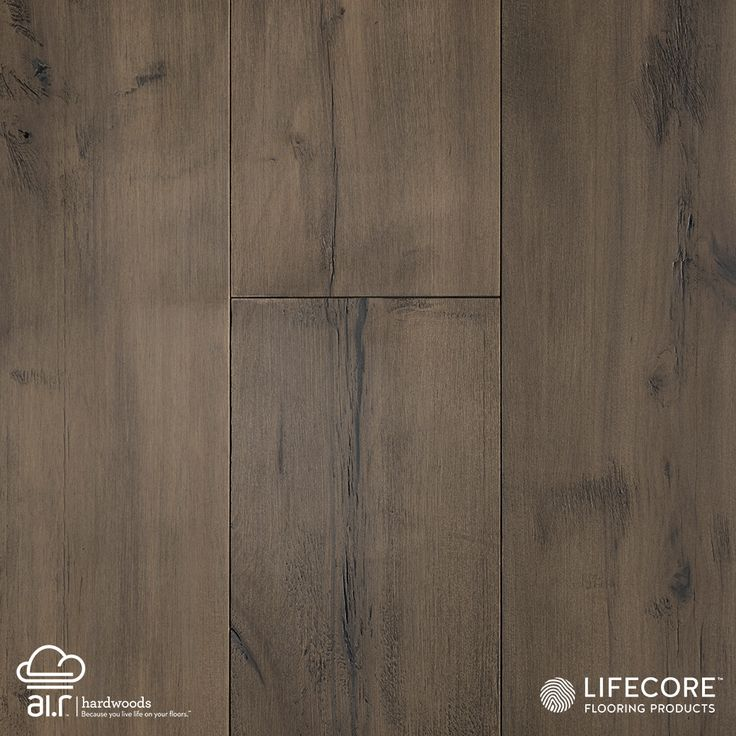 "In Italian, the word Allegra means ""joyful."" This visually pleasing collection of wide-plank engineered prefinished maples more than lives up to its name. The deep wire brushing and fumed finish is done by hand, allowing each plank to add its own unique statement to the floor's collective beauty. Maple scores the second highest of any non-exotic species on the Janka Hardness scale, earning 1450 (as opposed to American Cherry, which scores 950.).  Allegra Maple: Vistas"