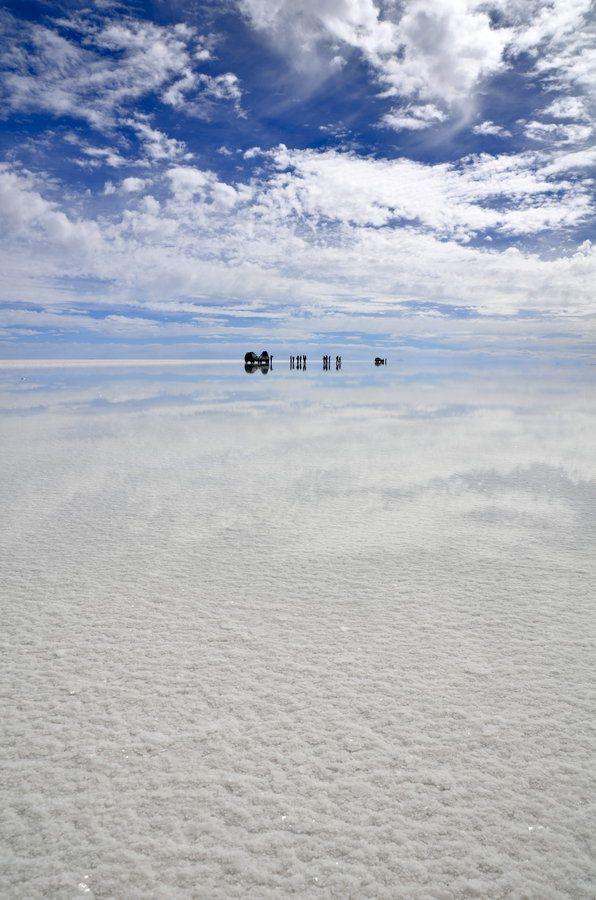 Perfect reflection - Uyuni, Bolivia