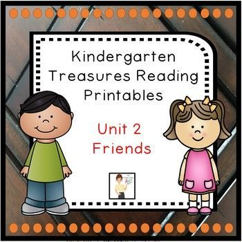 The Kindergarten Unit 2 Treasures Reading Printables Packet was created by The Primary Place. There are 94 pages in this PDF file. This package was designed for the 2011 Treasures Edition. If you teach another edition, please be aware that some of the stories or