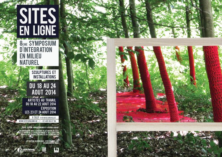Sites en ligne - Symposium d'intégration en milieu naturel. Sculptures et installations.