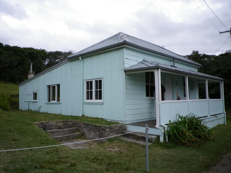 The Caretakers Cottage on the grounds of the Quarantine Station, Manly Northhead NSW Australia.  This cottage is said to be haunted by the very angry spirit of the caretaker.