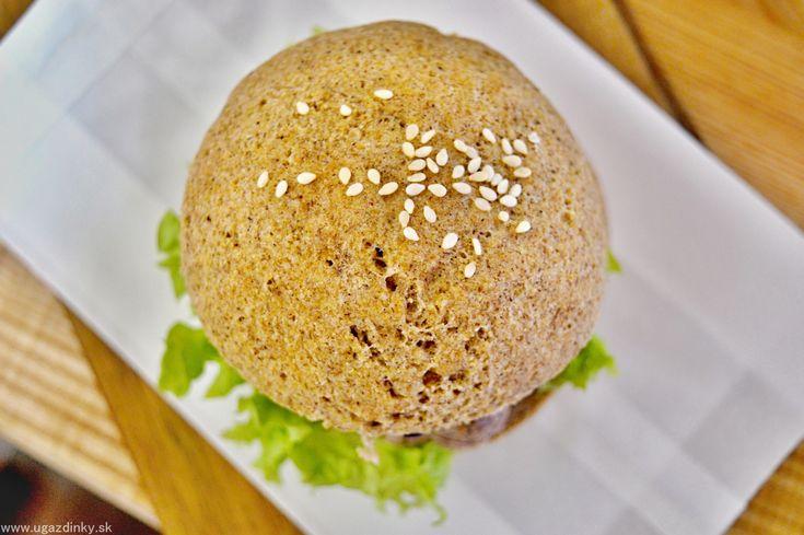 Hamburgerové žemle bez lepku a vajec