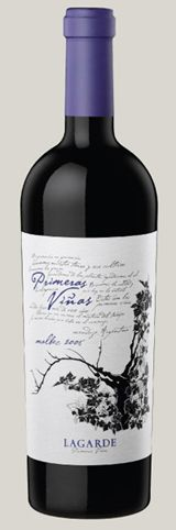 Primeras Viñas: 100% Argentinean Malbec made with grapes from centenary vineyards