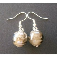 Murano Glass Bead Earrings for R45.00
