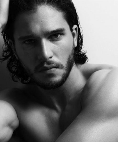 Thank me later girls!  LOVE HIM Kit Harrington Goes Shirtless, Fulfills Your Jon Snow Fantasy #refinery29