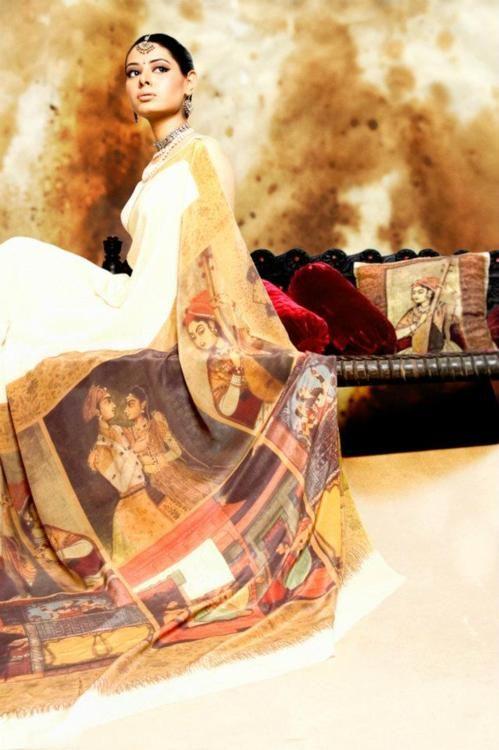Creative sari