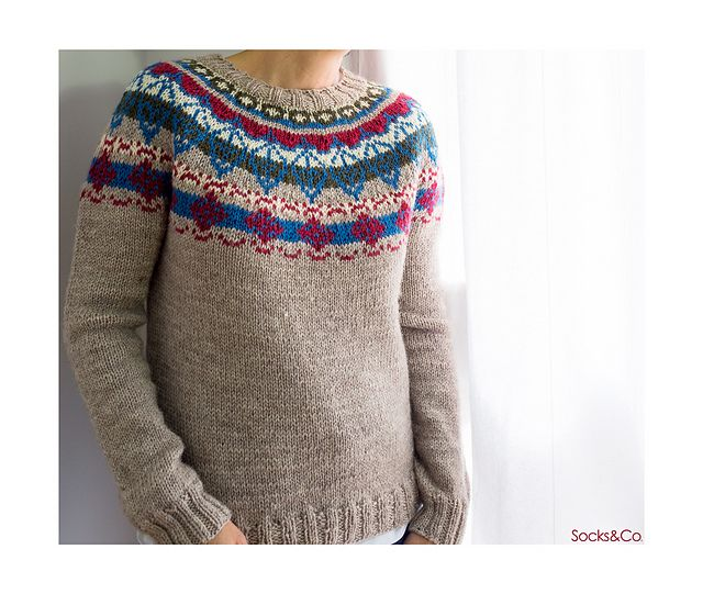 Ravelry: revival sweater II pattern by ana conde