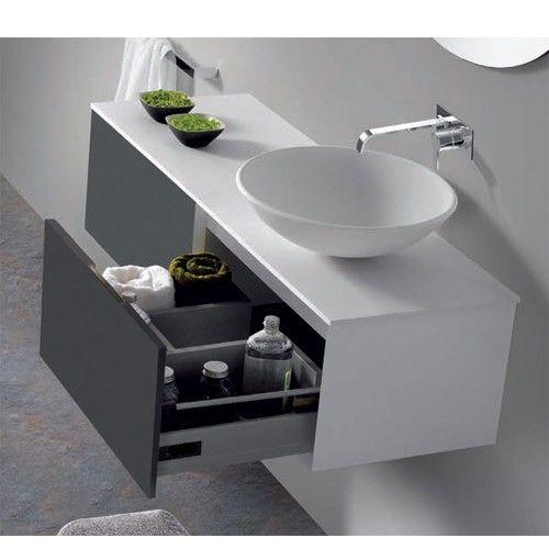 25 melhores ideias sobre banheiros modernos e baratos no for Mueble lavabo moderno