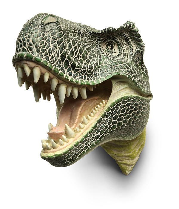 ThinkGeek :: T-Rex Hunter's Trophy