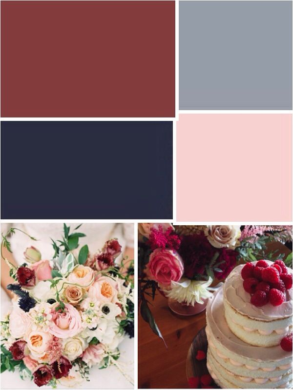 marsala navy and pink wedding colors pinterest navy