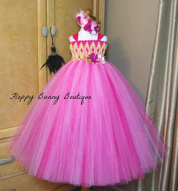 Fairy Collection...Our pink fairy tutu dress is depending on size, dress is made with 3-5 layers of premium quality made in the USA tulle. Bottom 2 layers of tulle are fuchsia and top 2-3 layers are a combination of shocking pink and pink tulle. Tulle is hand tied directly onto a