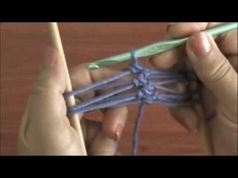 Video tutorial de la técnica básica para tejer en horquilla u horquilleta (hairpin lace)