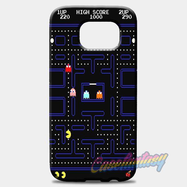 Pacman Game Samsung Galaxy S8 Plus Case Case | casefantasy