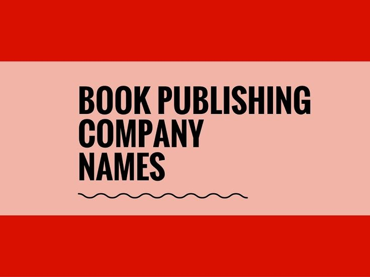 A Creative name is the most important thing of marketing. Check here creative, best book publishing Company names ideas for your inspiration.