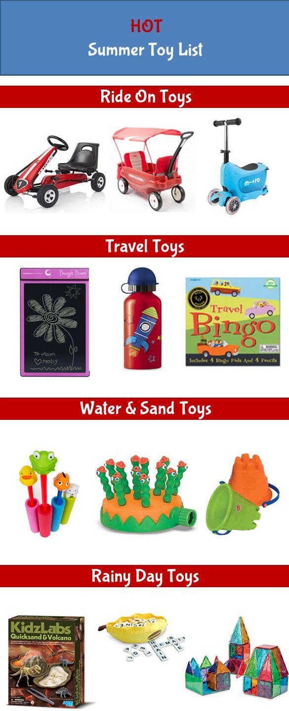 Hot Summer Toy List