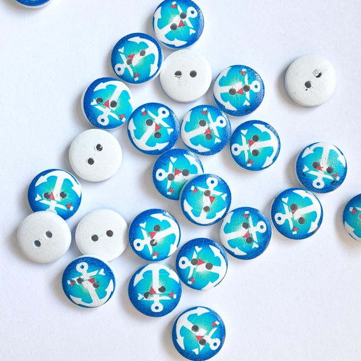 A personal favorite from my Etsy shop https://www.etsy.com/listing/540536951/5-pcs-of-nautical-buttons-anchor-button