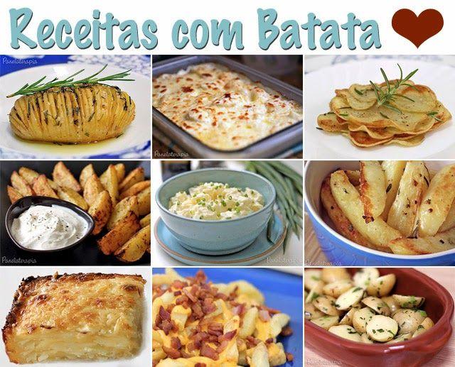 PANELATERAPIA - Blog de Culinária, Gastronomia e Receitas: Especial Receitas Fáceis com Batata