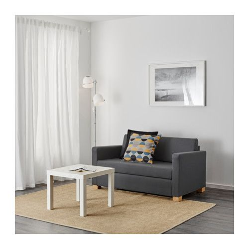 IKEA ULLVI two-seat sofa-bed Readily converts into a bed.