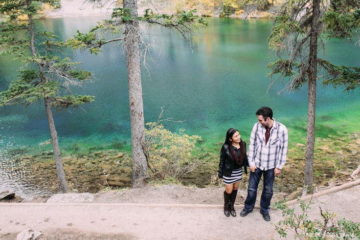 Grassi Lakes Canmore Alberta