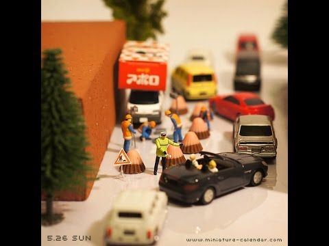 Miniature Calendar 2013 - May - YouTube