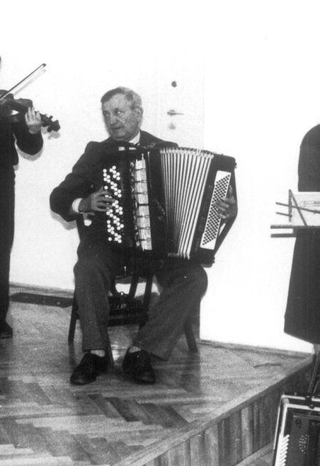 Jan Kuczyński (ur. 1919, Zosin, zm. 30.12.2013, Probostwo Dolne k. Lubania)    Fot. MZKiD - Muzeum Ziemi Kujawskiej i Dobrzyńskiej we Włocławku