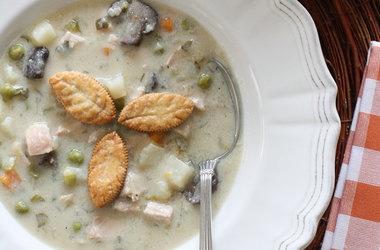 Turkey Pot Pie Soup | Broad palate | Pinterest