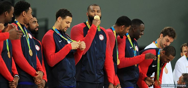 GOLD Medals For U.S. Men's Basketball Team! Down Serbia 96-66. 8/21/16